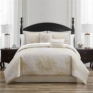 Ameline, Ivory, Gold, By, Waterford, Luxury, Bedding