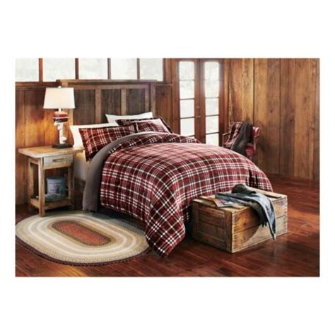 cabelas bed cabela s everest plaid three comforter set cabela