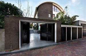 image result for modern boundary wall designs with gate With entrance gate designs for home