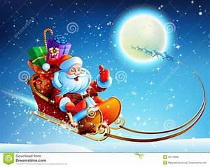 Traineau Du Pere Noel : le p re no l dans un tra neau illustration de vecteur illustration du deer snowflakes 46179690 ~ Medecine-chirurgie-esthetiques.com Avis de Voitures