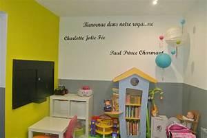 Idée Rangement Salle De Jeux : piece salle de jeux et bureau design de maison ~ Zukunftsfamilie.com Idées de Décoration