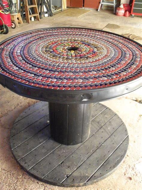 diy kabelrolle tisch ihr eigener designer tisch