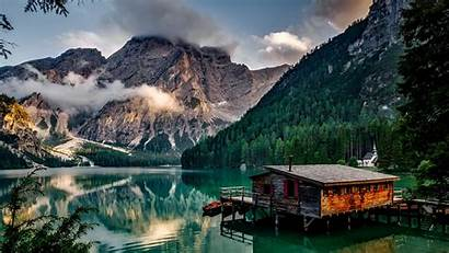 Italy Landscape Mountains Lake Desktop Backgrounds Clouds