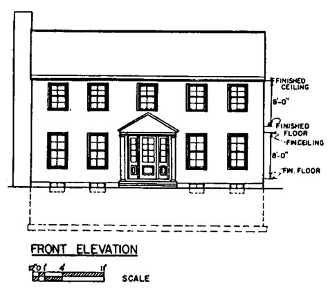 two colonial house plans simple colonial house plans colonial two house plans