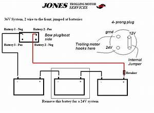 24 Volt Wiring Diagram For Trolling Motor Batts