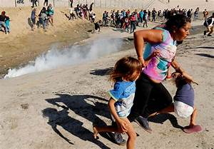 'There were children,' says migrant mother tear-gassed at ...