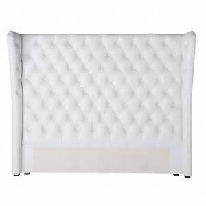 Tete De Lit Bois Ikea : t te de lit capitonn e cosy maisons du monde ~ Preciouscoupons.com Idées de Décoration