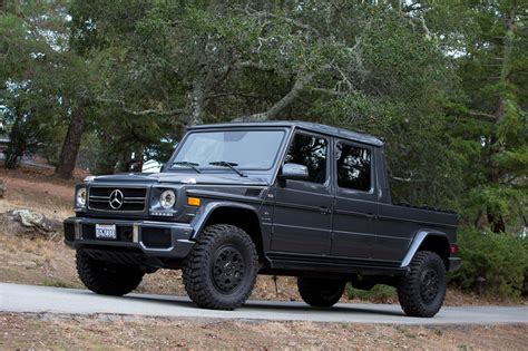 roader built  mercedes benz  class pickup