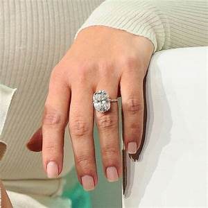 would you wear an 80 carat diamond engagement ring With kim k wedding ring