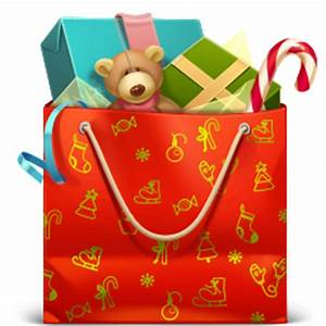 christmas shopping bag icon – Free Icons Download