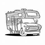 Campers Caravans Camper Kleurplaat Kleurplaten Reisen Ausmalbilder Kleurplatenpagina Letter sketch template