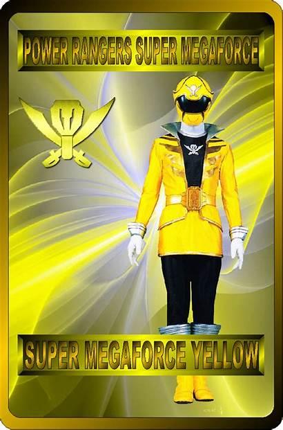 Deviantart Megaforce Yellow Power Rangers Rangeranime Ranger