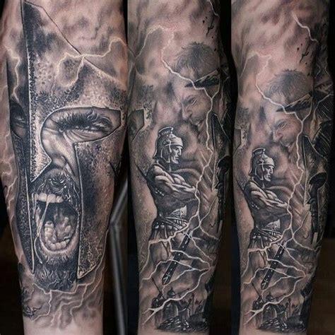 Spartani Contro Persiani by Tatuaggi Guerrieri Spartani Contro I Persiani Tatuaggio