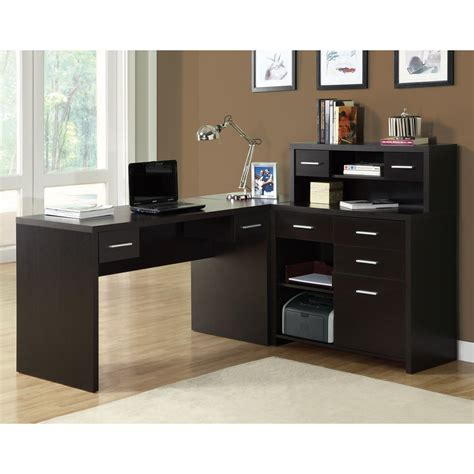 monarch specialties l shaped desk monarch specialties i 7 l shaped home office desk atg stores