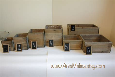 wooden box vases wood box wood boxes woodland planter flower rustic pot square