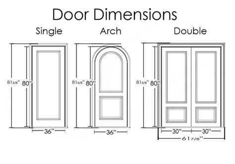 typical exterior door dimensions quora