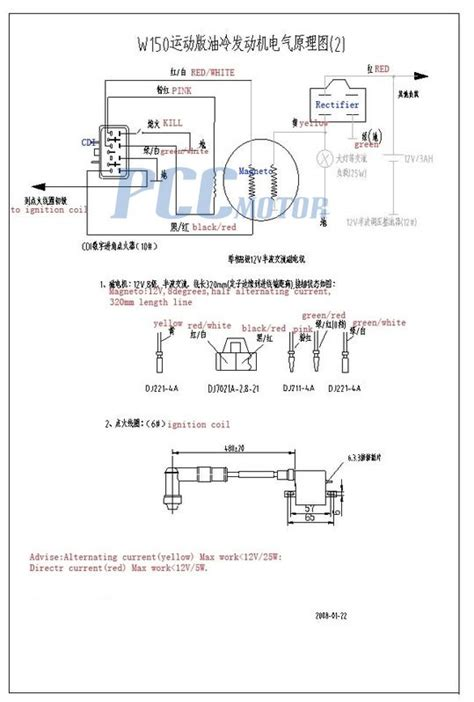 wiring diagrams for lifan 150cc engine