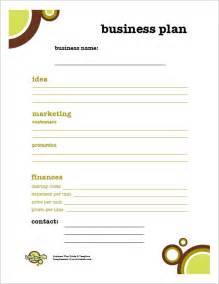 Kids Business Plan Template PDF