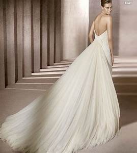 elegant collections of lace wedding dresses with long With train wedding dress