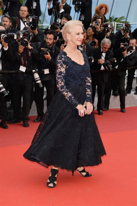 helen mirren lace dress helen mirren  stylebistro