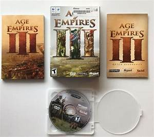 Age Of Empires Iii Mac Apple Version 2006 Complete Box