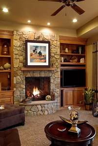 36 Cozy Living Room Ideas with Fireplaces • Unique ...