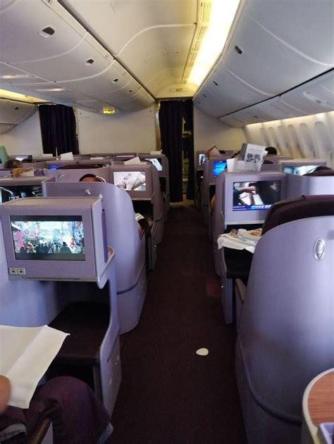 review  thai airways flight  shanghai  bangkok