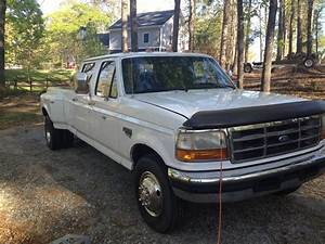 1997 Ford F350 7 3 Diesel Crew Cab Long Bed 2wd Dually For