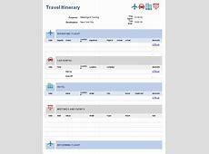 Flight Itinerary wwwimgkidcom The Image Kid Has It!