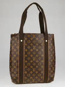 louis vuitton monogram canvas cabas beaubourg tote bag