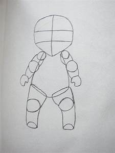 Chibi Body Template by misbil on deviantART