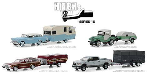 greenlight diecast hitch  tow series  master case