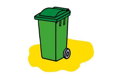 poubelle cuisine verte poubelle de cuisine verte plastique vert l