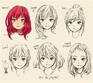 1000+ images about Manga hair on Pinterest | Drawing hair ...