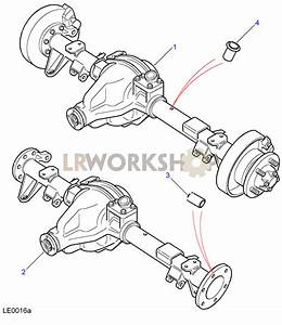 Rear Axle Assembly - Salisbury  110