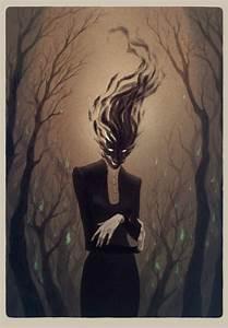 Anne, Dark, Concept, Art