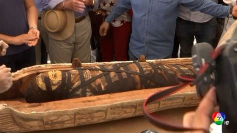 อียิปต์เปิดโลงศพมัมมี่โบราณ ครั้งแรกในรอบกว่า 2,600 ปี ...