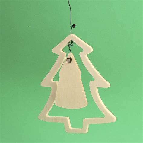 unfinished wood christmas tree ornaments