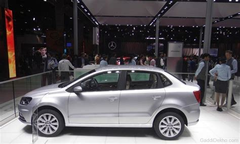 volkswagen ameo silver volkswagen ameo in silver color car pictures images