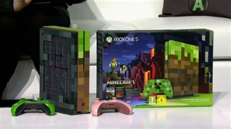 minecraft xbox   console revealed  microsofts