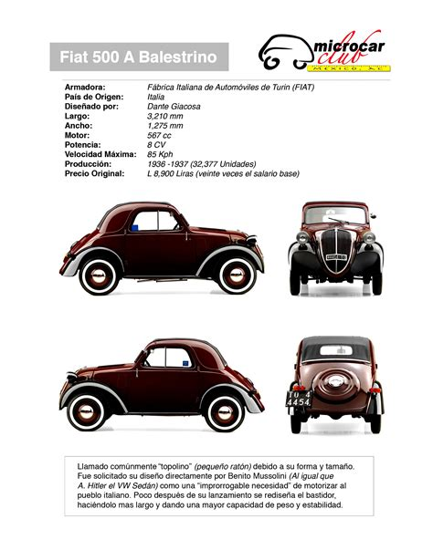 Fiat 500 Topolino 1936 Photos 2 On Motoimgcom