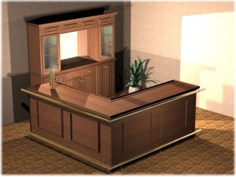 Home Bar Plans by L Shaped Home Bar Plans