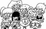 Loud Coloring Pages Members Tv Popular Member sketch template