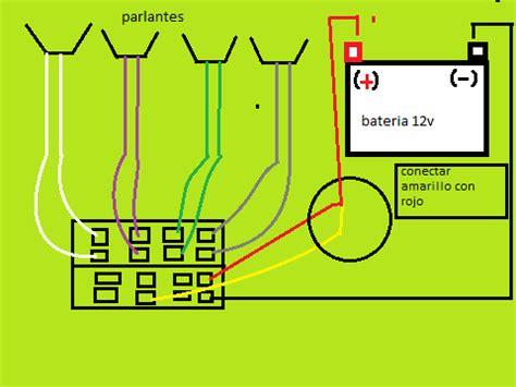 como conectar un estereo sony cdx gt200 yoreparo