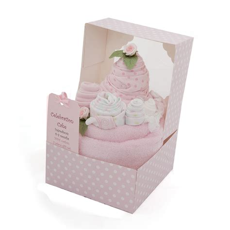 Build your own gift box, custom gift boxes, birthday boxes Beautiful new born baby celebration cake gift set in ...