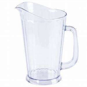 Choice 60 oz. Polycarbonate Beer Pitcher