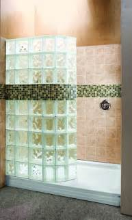 glass block bathroom designs bath to shower conversions with glass blocks curved glass shower shields walk in showers