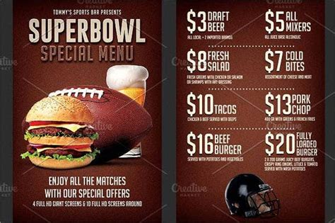 small restaurant menu designs templates