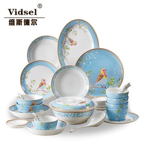 dinnerware porcelain dishes tableware korean cheap grade sets ceramic plate skull bowl gift dish china coverall marriage dhgate discount sc