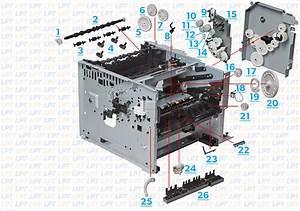 Parts Diagram 2 For Laserjet M3035  M3027